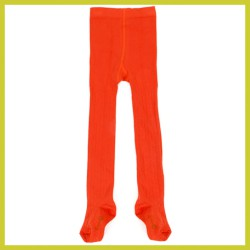 Lily Balou Eva tights knitwear tangerine-red
