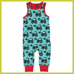 Maxomorra Playsuit CLASSIC TRACTOR