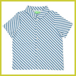 Lily Balou Julian Shirt diagonal-stripes
