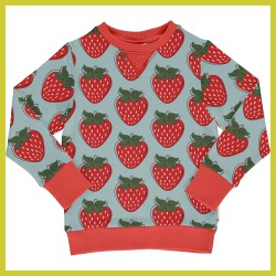 Maxomorra Sweatshirt STRAWBERRY