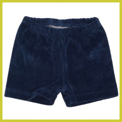 froy-and-dind-short-velours-donkerblauw