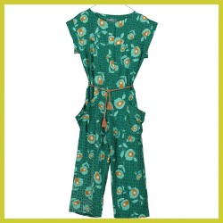 Tarantela jumpsuit green flower