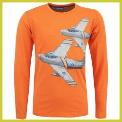 Someone Longsleeve Jet dark Orange