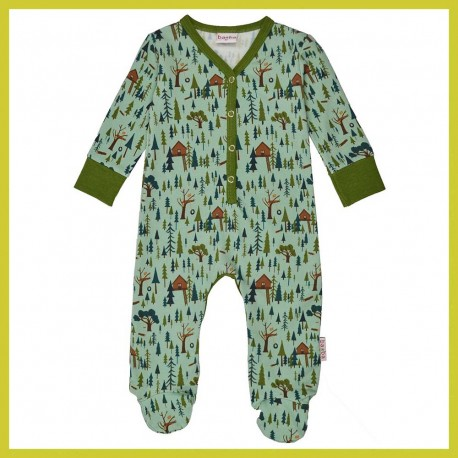 Baba Footed bodysuit Treehouse
