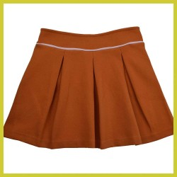 Baba Pleat skirt Autumnal milano