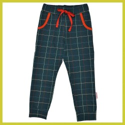 Baba Girls pant Checked blue