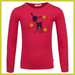 Someone Longsleeve Bambi bright pink