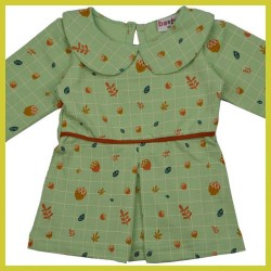 Baba Collar dress Autumn