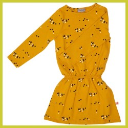 Froy and Dind Jurk Angel Dots Mustard