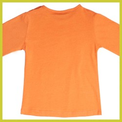 Someone BABY longsleeve Carmpiba orange