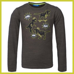 Someone longsleeve Map Khaki
