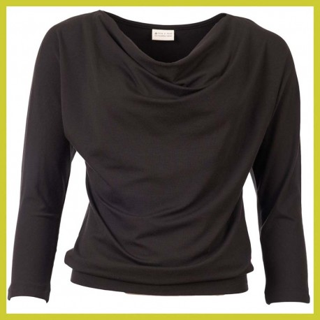 Froy and Dind longsleeve Mimi Black