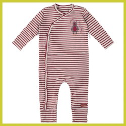 Bampidano jumpsuit Stripes red