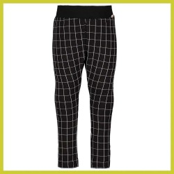Bampidano broek checked Black