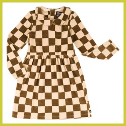 Carlijn Q Checkers dress