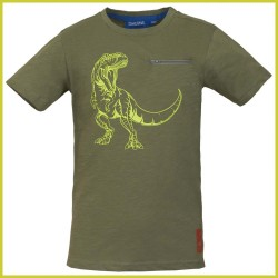 Someone t-shirt Dino khaki