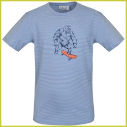 Mini Rebels t-shirt Stay light blue