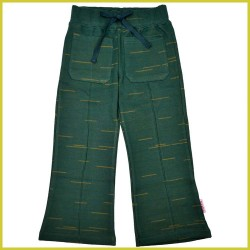 Baba Pocket pant strokes green