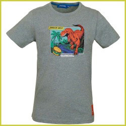 Someone t-shirt Dinos light green