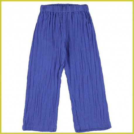 Lily Balou Leonie wide trousers dazzling blue