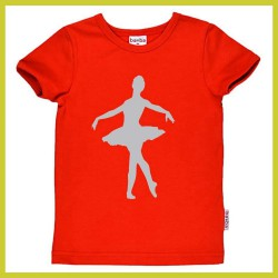 Baba t-shirt Ballerina Red