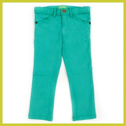 Lily Balou Twill Trousers Ethan Emerald