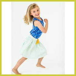 Lily Balou Swaddle Skirt Isadora Clearly Aqua