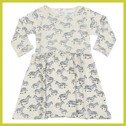 Liv Lou Dress Obelia aop Jumping Zebras