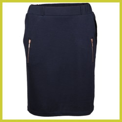 Vila Joy Rok Jasmin dark navy