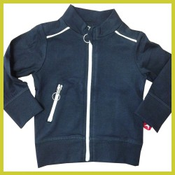 Kik Kid jacket French Knit Blauw