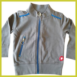 Kik Kid jacket French Knit Grijs