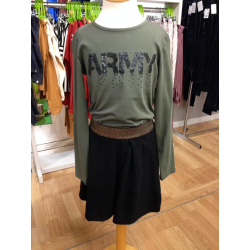 Someone longsleeve army groen