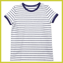 Lily Balou Billie T-shirt Gentian Blue Stripes