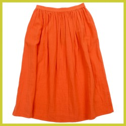Lily Balou Dames Uma Skirt Muslin Red Orange