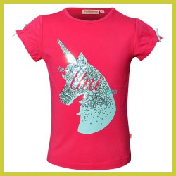 Someone t-shirt unicorn Dark Pink