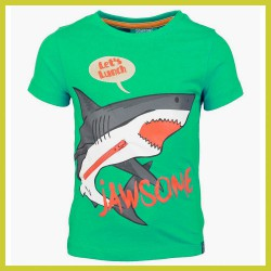 Someone t-shirt Shark Bright Geen