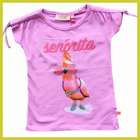 Someone t-shirt Parrot Pink