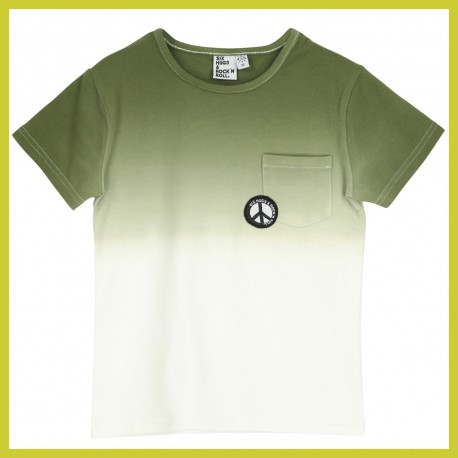 Six Hugs T-SHIRT gradient khaki