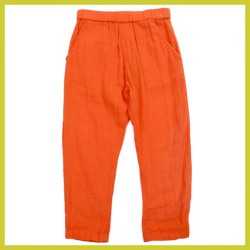 Lily Balou Dames Nikki Trousers Muslin Red Orange